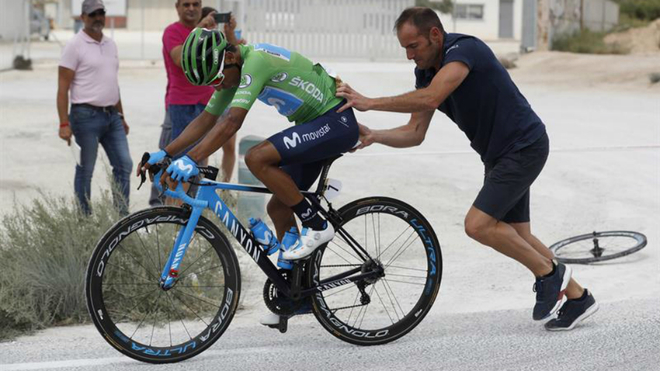 Image result for nairo quintana vuelta 2019