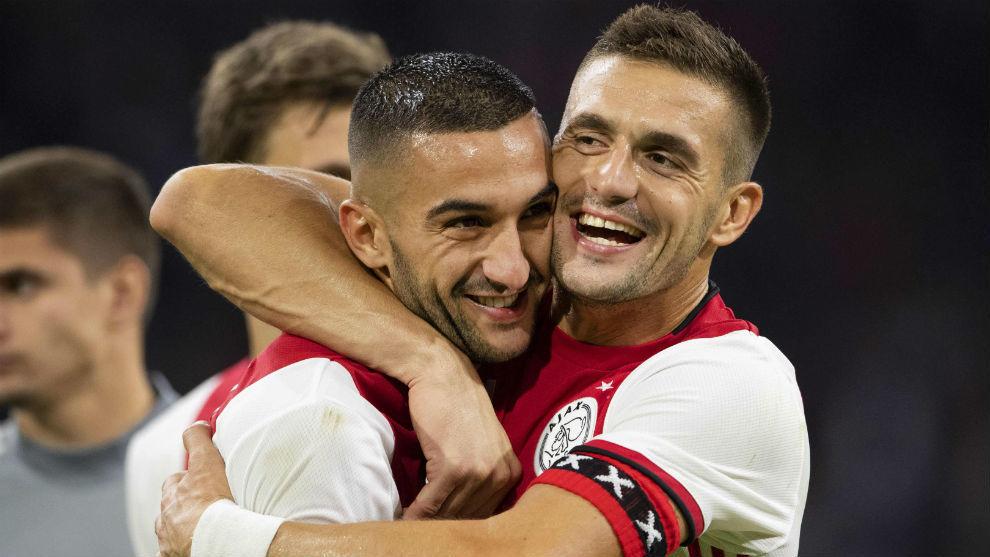 Ziyech (26) y Tadic (30).