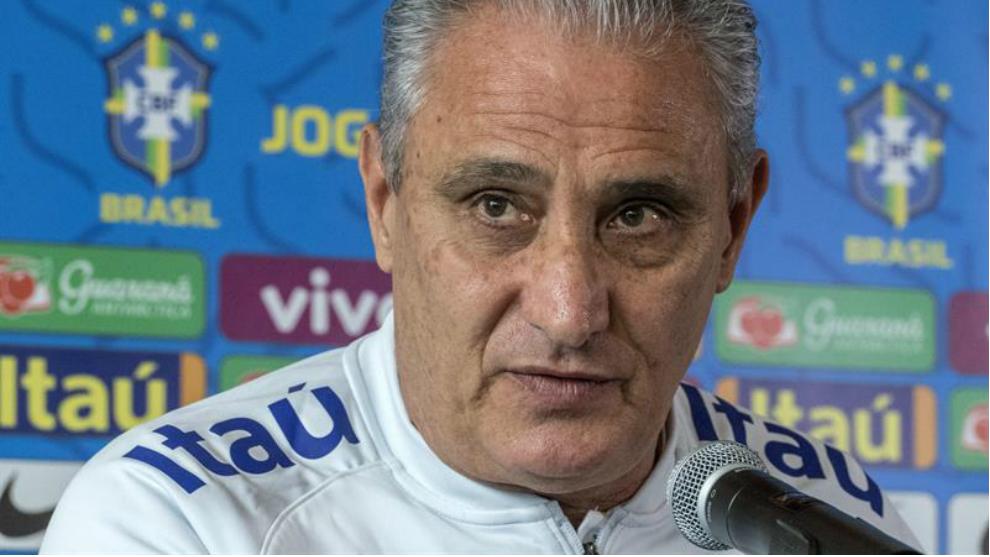 """El seleccionador brasileño, Adenor Leonardo Bacchi, """"Tite"""", habla..."""