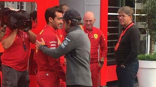 Alonso apareció de nuevo en la Fórmula 1
