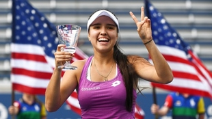María Camila Osorio levanta el título de campeona del US Open Junior