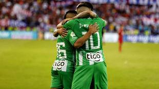 Nacional celebra la goleada ante el DIM
