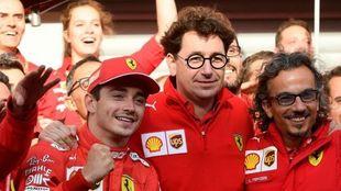 En Ferrari están de celebración