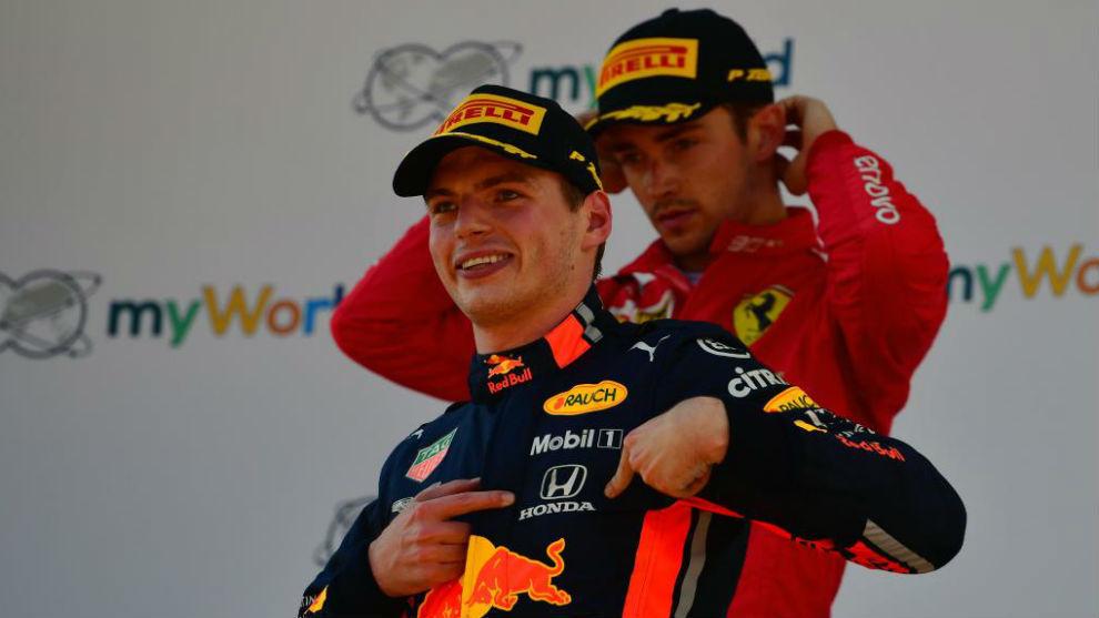 Leclerc largará adelante en el Gran Premio de Italia