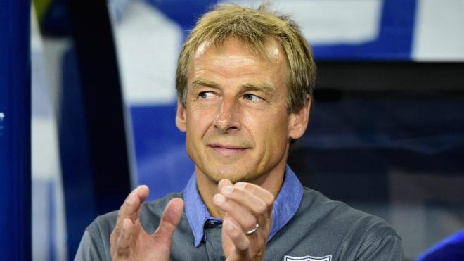 Jürgen Klinsmann, entrenador alemán.