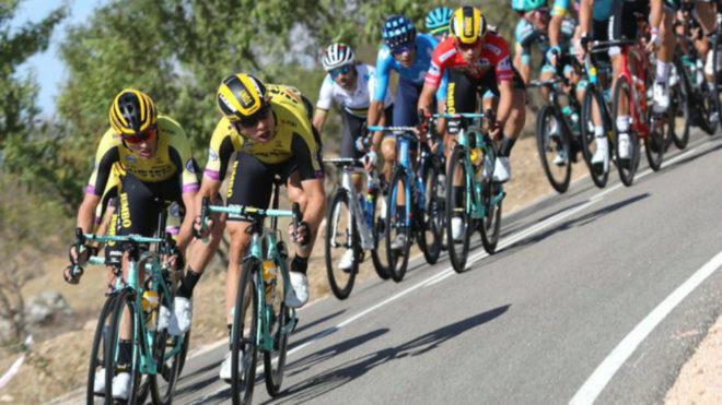 La 18ª etapa de la Vuelta a España, minuto a minuto
