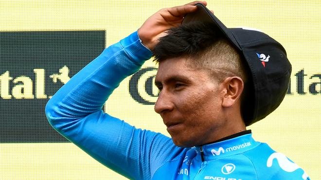 Nairo fue el hombre más combativo de la etapa 17 de la Vuelta 2019