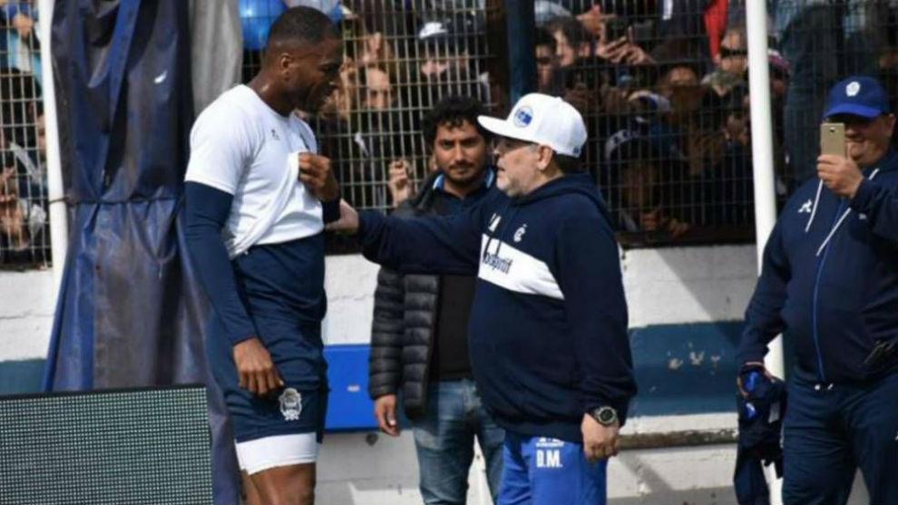 """""""Ni en sueños pensé conocer a Diego Armando Maradona"""" dijo el ex..."""
