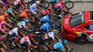 La 20ª etapa de la Vuelta a España, minuto a minuto