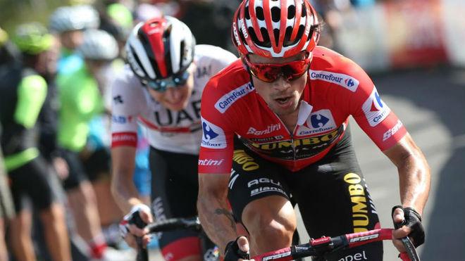 Roglic y Pogacar en La Vuelta