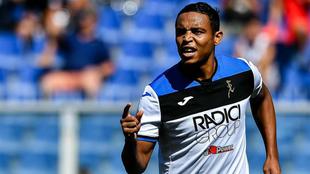 Muriel marca su tercer gol de la presente temporada con Atalanta