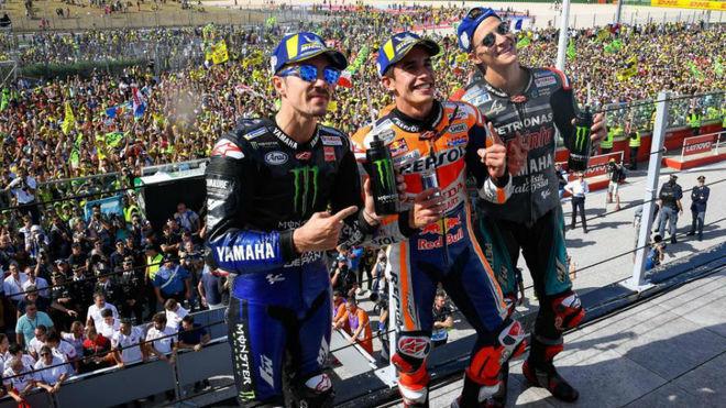Márquez y un nuevo podio mundialista GP