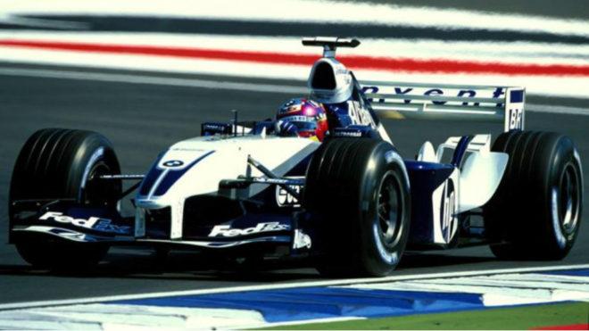 Juan Pablo Montoya cuando estaba en la Fórmula 1 / Williams Martini...