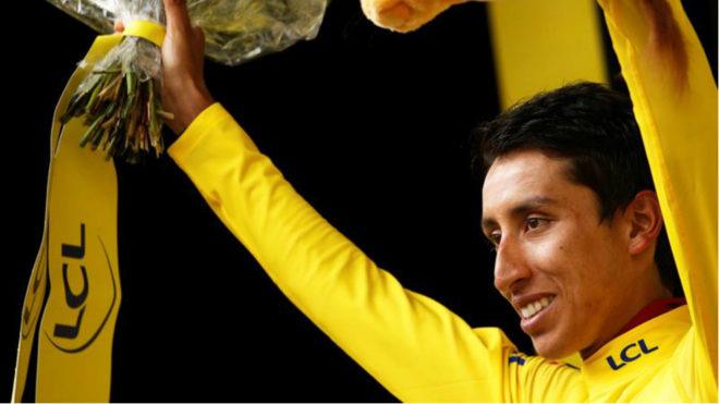 Bernal y su triunfo en el pasado Tour de Francia