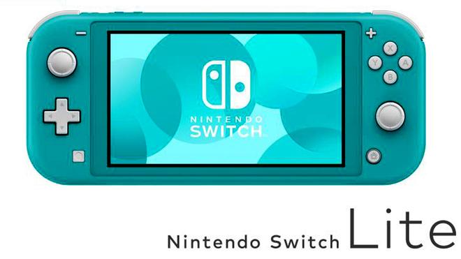 Nintendo lanza Switch Lite, más compacta y diseñada para modo portátil