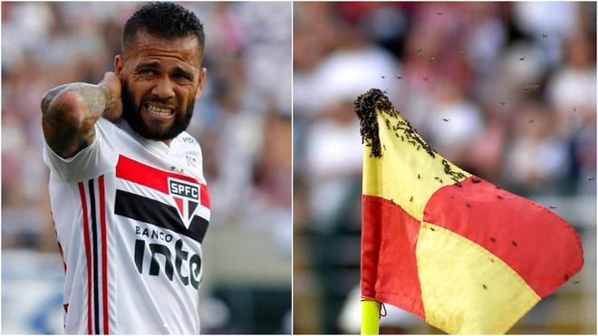 El internacional brasilero pasó un momento incómodo por culpa de...