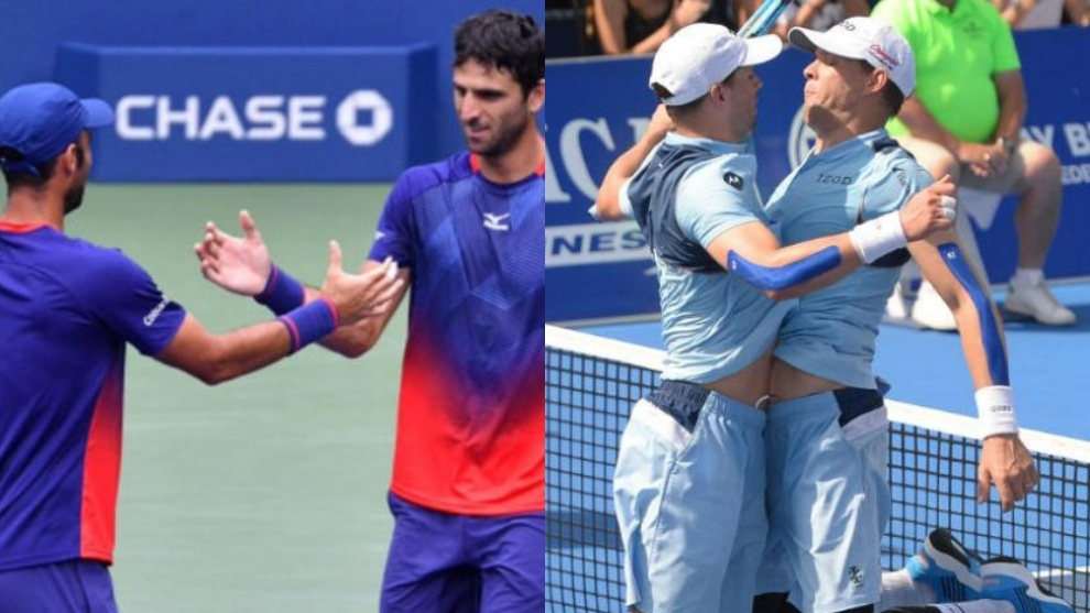 Cabal y Farah, los números 1 del mundo y Federer los felicita