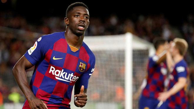 Ousmane Dembélé, futbolista francés que milita en el Barcelona.