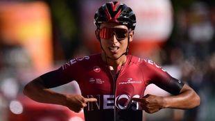 Bernal y su primera victoria en Italia con el Team Ineos