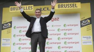 Eddy Merckx en el reciente Tour de Francia 2019