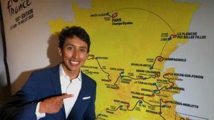 Egan durante la presentación de la edición 107 del Tour de Francia.