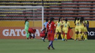 Huila derrotó 3-0 al Cerro Porteño en la Libertadores Femenina