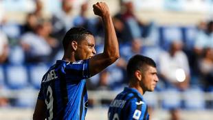 Sus goles no alcanzaron para sumar tres puntos en Roma