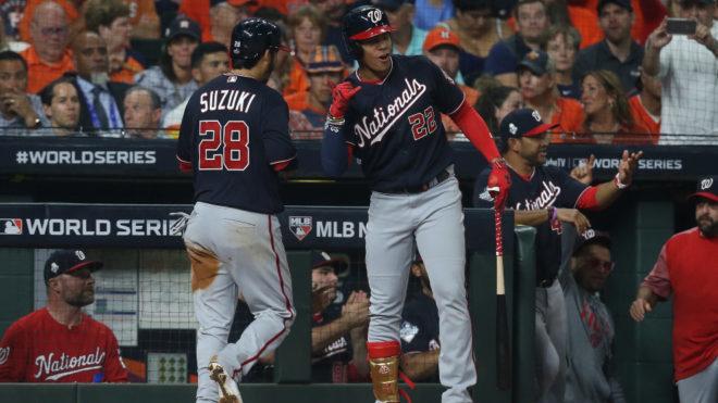 Serie Mundial MLB 2019: Los Nationals ganan su primer juego de Serie Mundial ante los Astros, en Houston 1