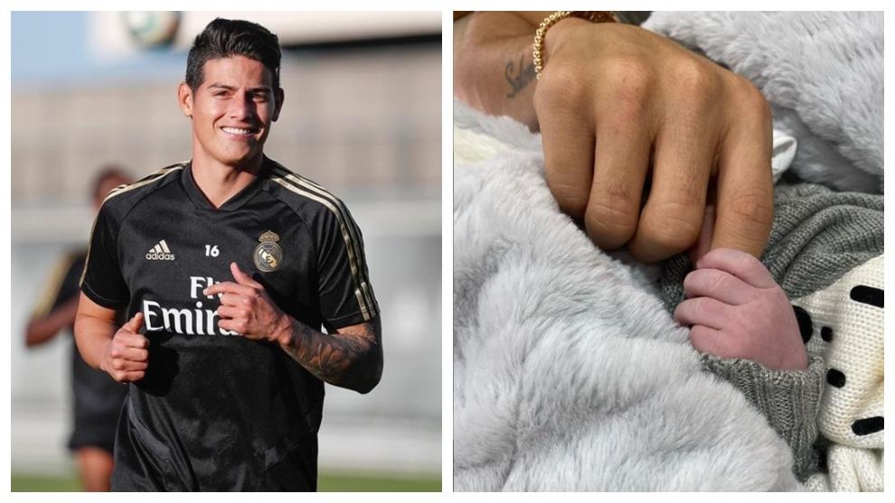 James Rodríguez anunció el nacimiento de su segundo hijo