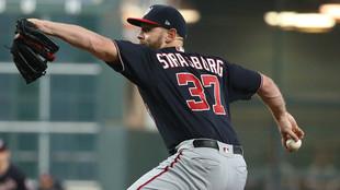 Stephen Strasburg, pitcher de los Washington Nationals.