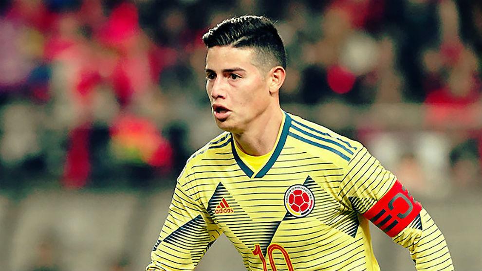Más lío en el Madrid: Colombia convoca a James, lesionado