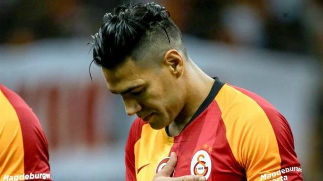 Radamel Falcao García, delantero de Galatasaray.