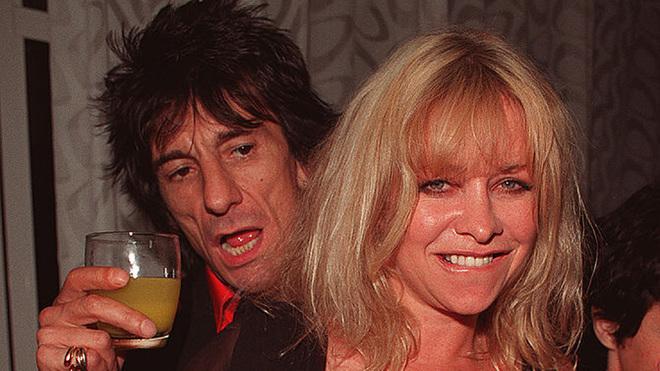 Jo Wood, ex mujer de Ronnie Wood.