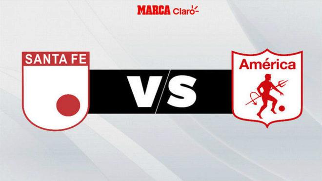 Santa Fe derrota 2-1 al América en inicio de cuadrangulares
