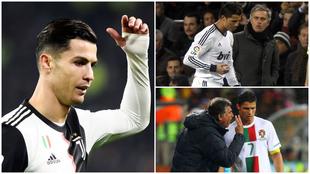 Cristiano Ronaldo, futbolista portugués.