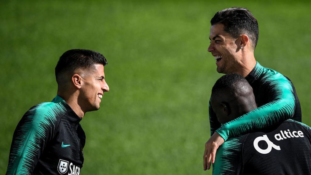 Cristiano Ronaldo le pegó de una y metió un golazo brutal