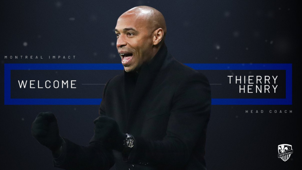 Thierry Henry, nuevo entrenador del Montreal Impact de Bojan Krkic