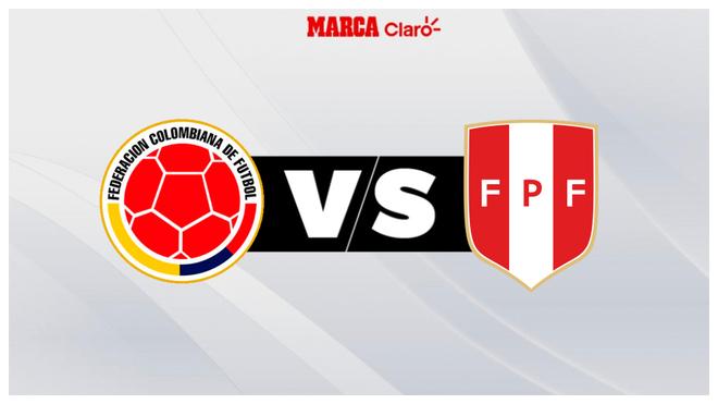 Colombia vs Perú: horario y dónde ver el partido amistoso