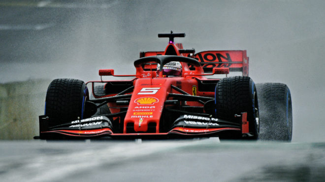 Vettel y Leclerc han encabezado la clasificación.