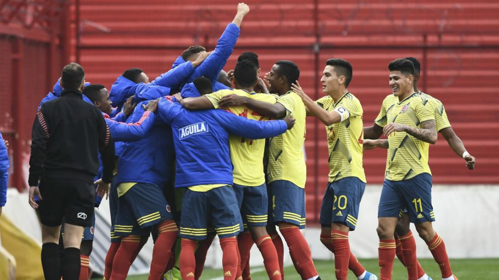 Selección Colombia Sub-23 le ganó Japón en juego amistoso
