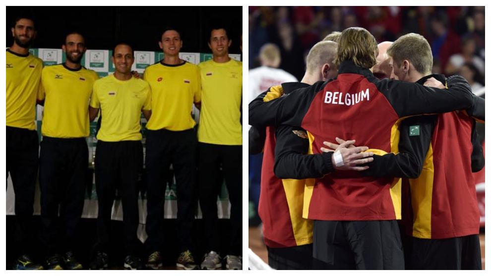 Colombia vs Bélgica, en vivo la Copa Davis de Madrid
