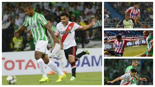 Alexis Henríquez y Teófilo Gutiérrez han sostenido varios cruces a...