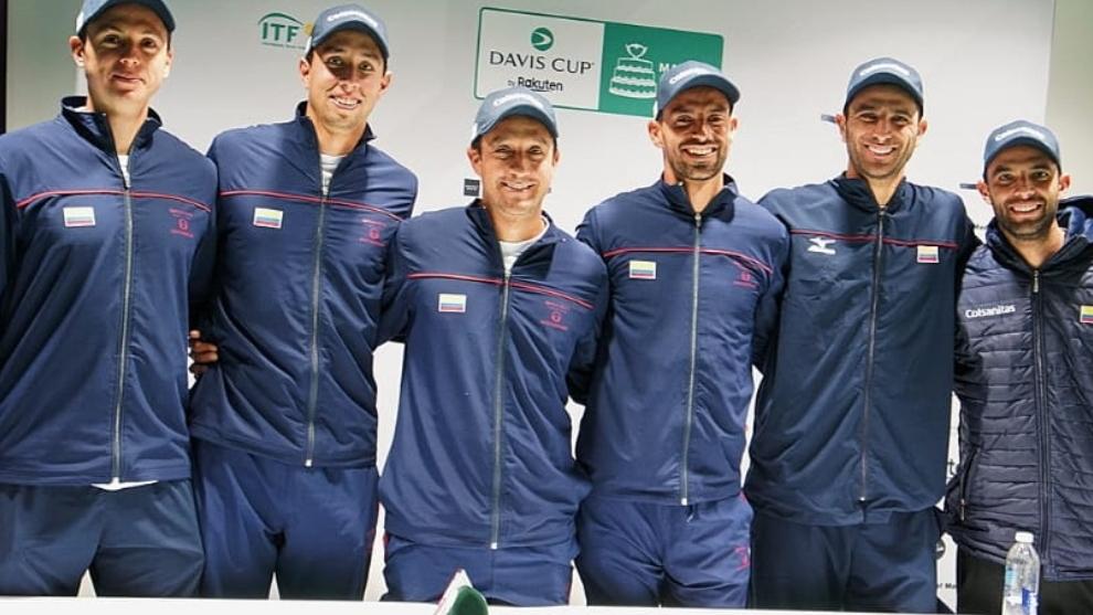 Los jugadores de Colombia que estarán en la Copa Davis