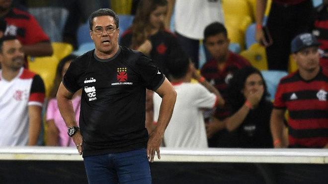 Vanderlei Luxemburgo, entrenador del Vasco da Gama.