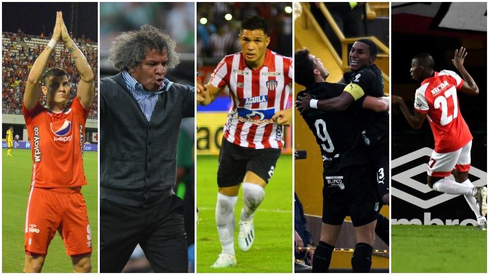 Todas las miradas vayan para estos cinco equipos.
