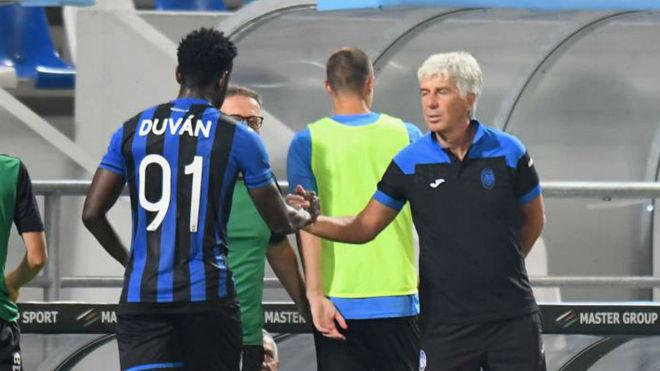 Gia Piero Gasperini confirmó que Zapata no llega para el partido de...