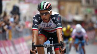 Fabio Aru, ciclista italiano.