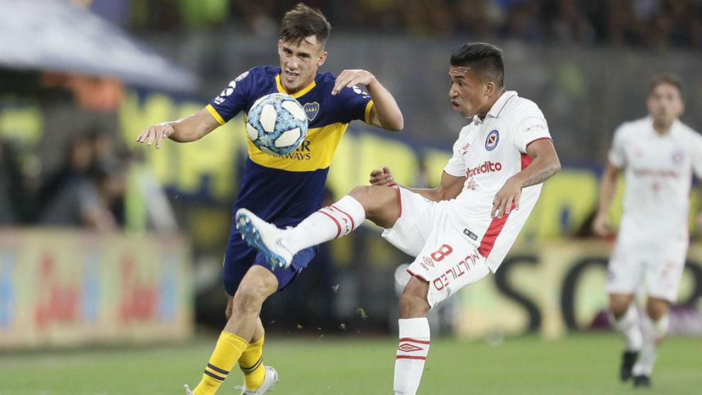 Boca Juniors no pasa del empate ante Argentinos con Villa y Fabra ...