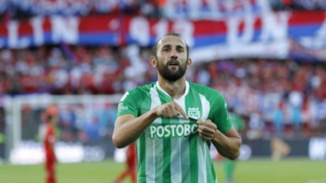 El argentino Hernán Barcos no continuará en Atlético Nacional en 2020