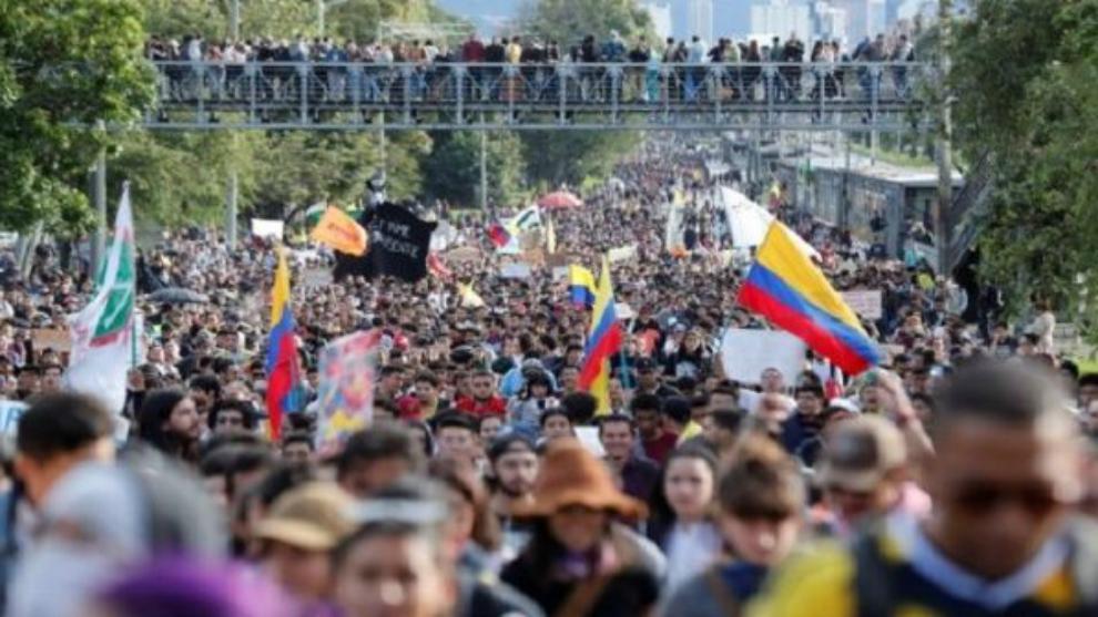 En vivo: así transcurre la jornada de Paro Nacional